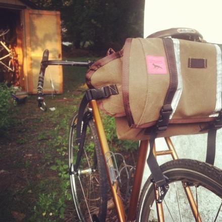 Trunk Saddle bag. Swift Industries.